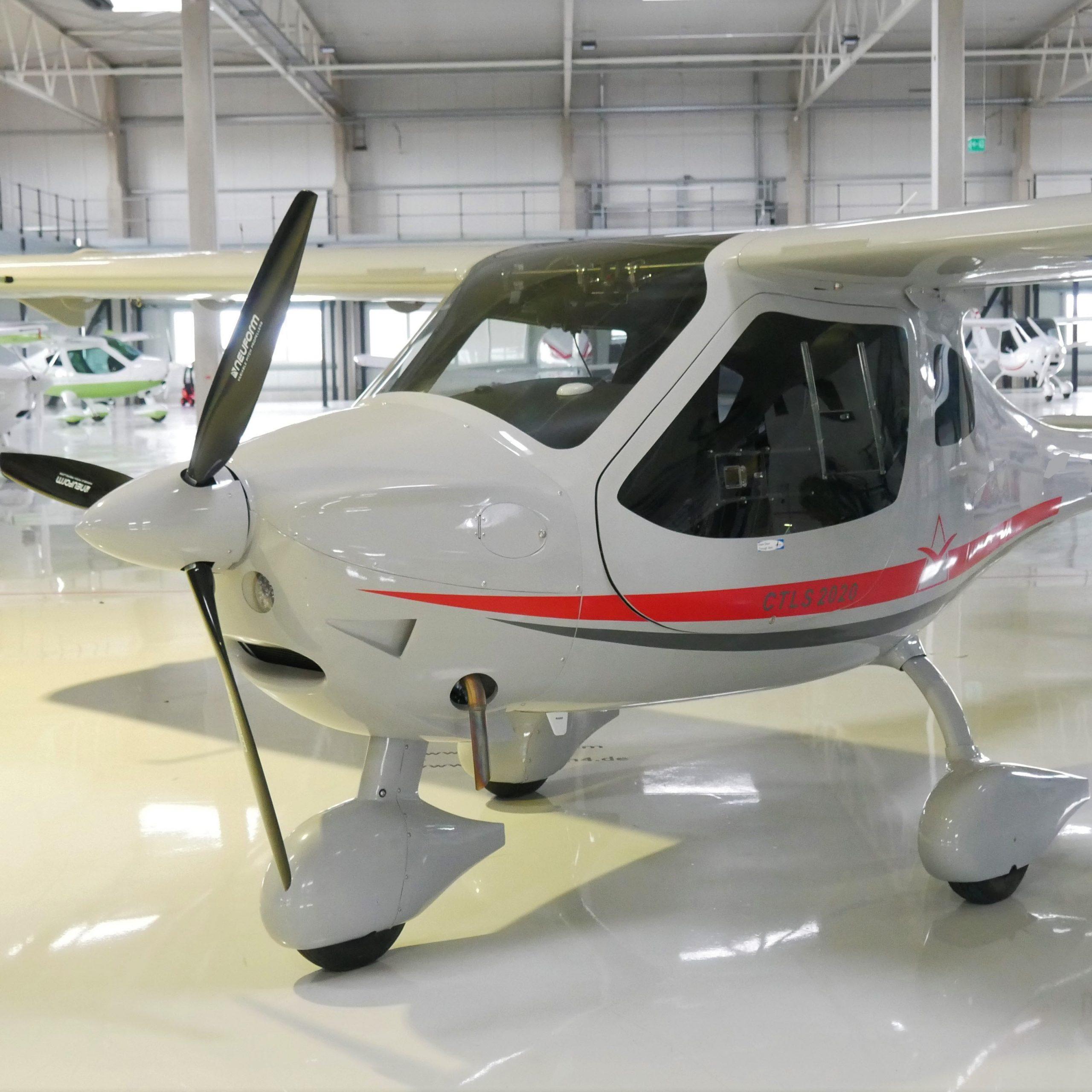 FLIGHT DESIGN CTLS AND CTLSi EASA CERTIFIED