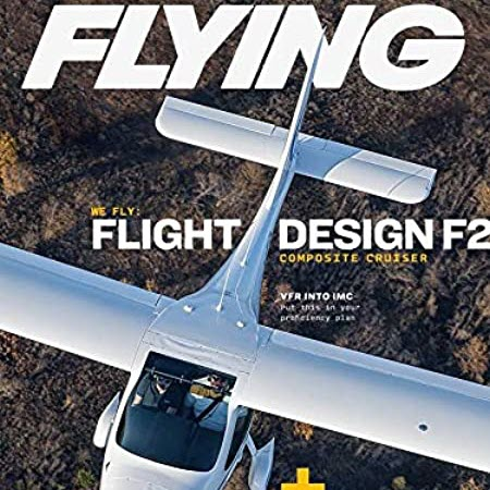 FLIGHT DESIGN F2 LSA ON THE COVERS OF FLYING MAGAZINE AND AOPA PILOT MAGAZINE